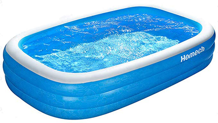 Homech Family Inflatable Pool