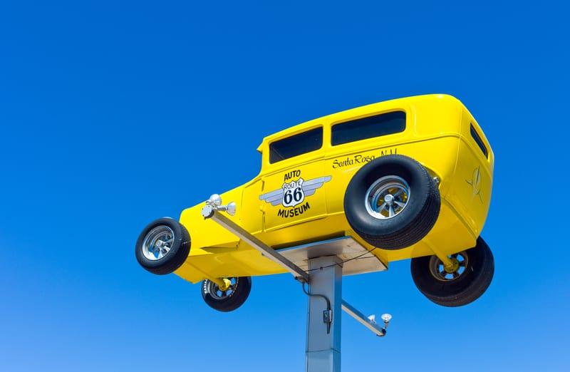 Route 66 Auto Museum Vintage Car