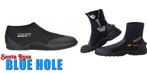 Diving booties and boots