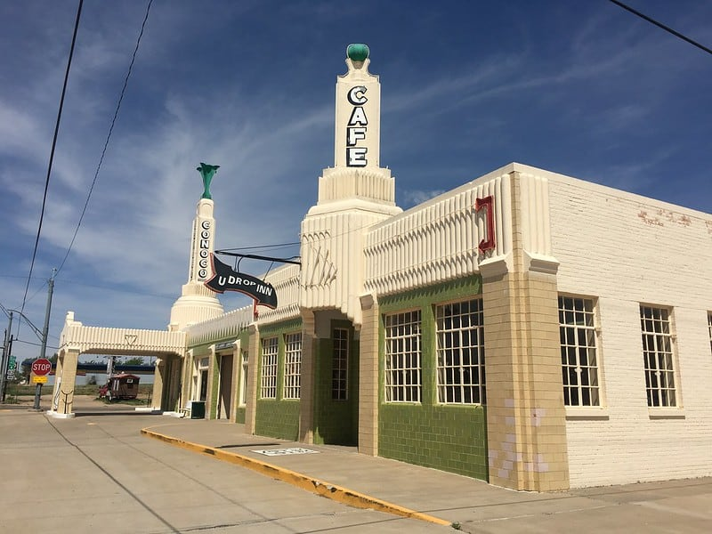 U-Drop Inn, Route 66, Shamrock, TX