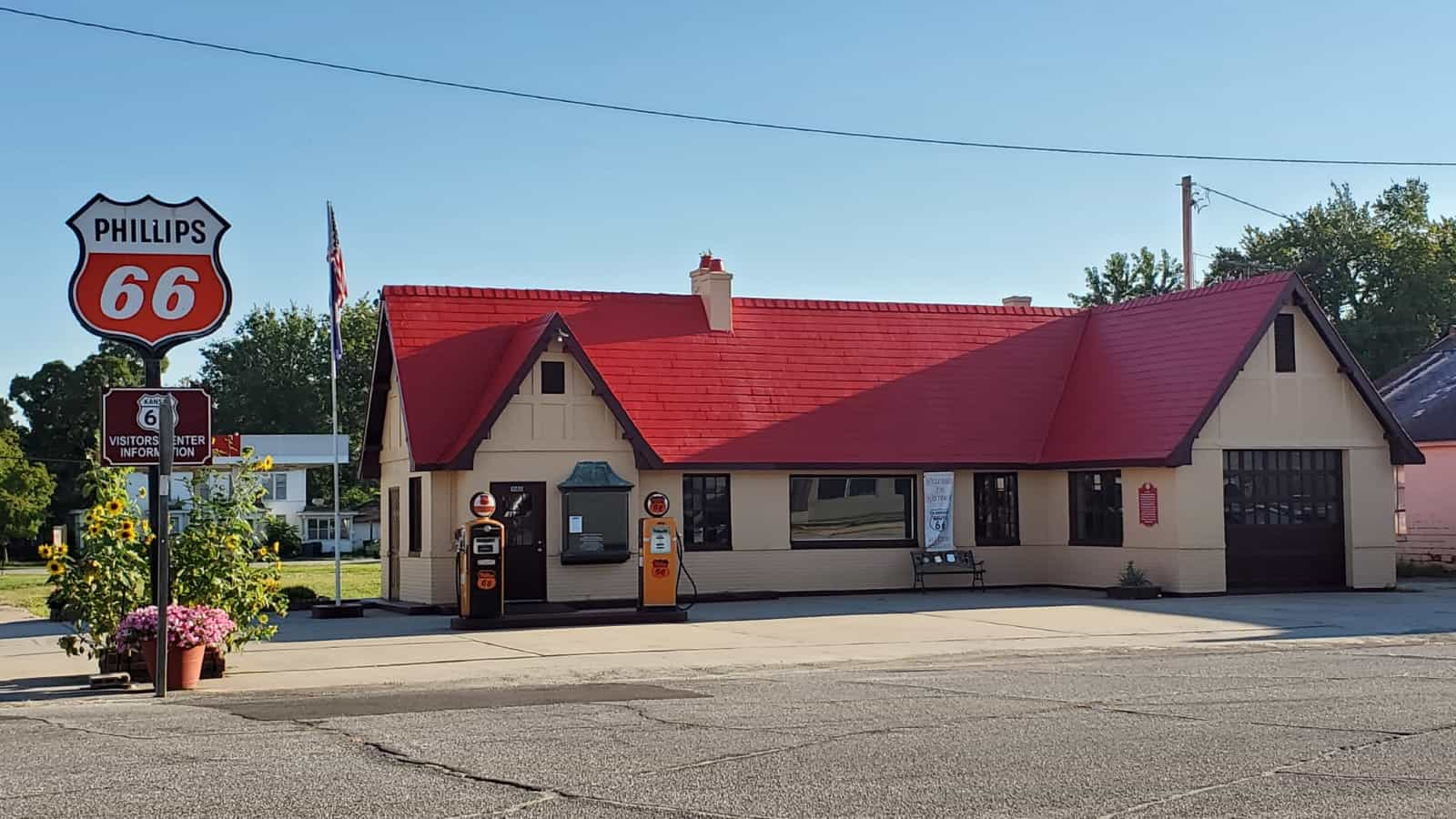 Baxter Springs Vintage Gas Station Stop